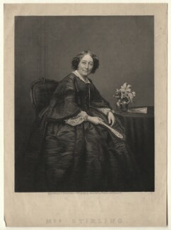 Fanny Stirling, by Daniel John Pound, after a photograph by  John & Charles Watkins - NPG D6870