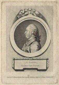 George Stubbs, by D.P. Pariset, after  Pierre-Étienne Falconet - NPG D6883