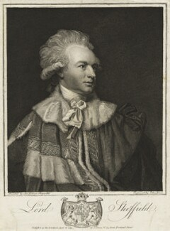 John Baker Holroyd, 1st Earl of Sheffield, by and published by John Jones, after  Sir Joshua Reynolds - NPG D6894