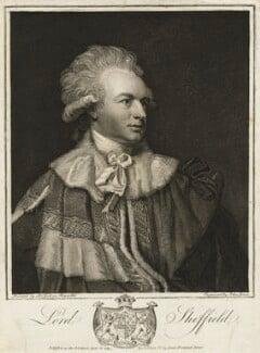 John Baker Holroyd, 1st Earl of Sheffield, by and published by John Jones, after  Sir Joshua Reynolds, published 6 April 1789 (1788) - NPG D6894 - © National Portrait Gallery, London