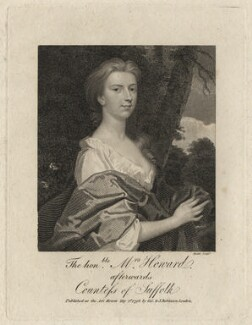 Henrietta Howard (née Hobart), Countess of Suffolk when Mrs Howard, by James Heath, after  Unknown artist - NPG D6899