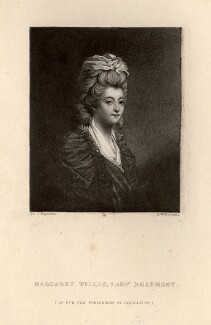 Margaret Beaumont (née Willes), Lady Beaumont, by Samuel William Reynolds, after  Sir Joshua Reynolds - NPG D690