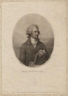 Henry Swinburne, by Marino or Mariano Bovi (Bova), after  Richard Cosway - NPG D6907