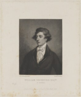 William (Thomas) Beckford, by Frederick Bromley, published by  Henry Graves & Co, after  Sir Joshua Reynolds, published 1862 (1782) - NPG D691 - © National Portrait Gallery, London