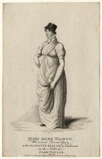 Mary Anne Talbot, by G. Scott, after  James Green - NPG D6914