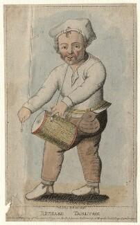 Richard Tarlton, by Silvester (Sylvester) Harding, after  Unknown artist - NPG D6923