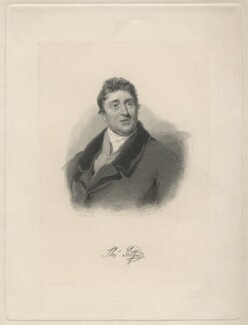 Thomas Telford, by William Camden Edwards, after  Samuel Lane - NPG D6934