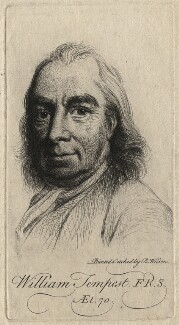 William Tempest, by Benjamin Wilson - NPG D6938