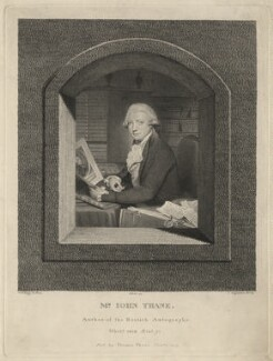 John Thane, by John Ogborne, published by  Thomas Thane, after  William Redmore Bigg, published 1 January 1819 - NPG D6948 - © National Portrait Gallery, London