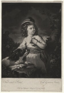Nannette Thelluson, by Valentine Green, sold by  Ryland and Bryer, after  Pierre-Étienne Falconet - NPG D6949