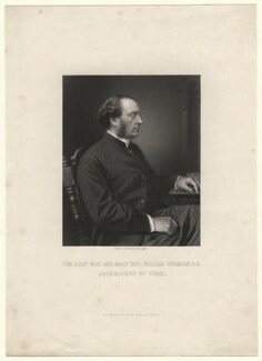 William Thomson, by William Holl Jr, after  Unknown photographer - NPG D6953