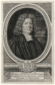 John Tillotson when Dean of Canterbury, by Robert White - NPG D6957