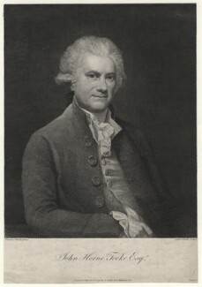 John Horne Tooke, by Anker Smith, after  Thomas Hardy, published 1791 - NPG D6960 - © National Portrait Gallery, London