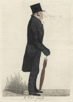 Thomas Tooke ('A near guess'), by and published by Richard Dighton - NPG D6962