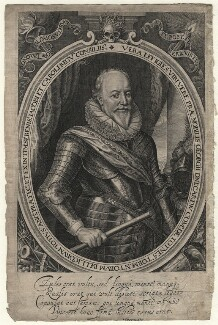 George Carew, Earl of Totnes, by Robert van Voerst - NPG D6968