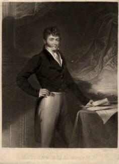 Matthew Bell, by Samuel William Reynolds, after  Henry Perlee Parker - NPG D697