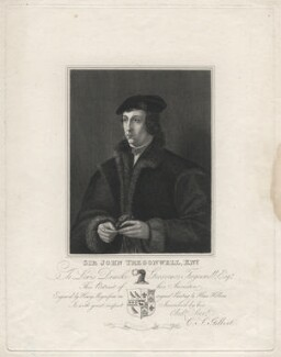 Sir John Tregonwell, by Henry Meyer, after  Hans Holbein the Younger - NPG D6976