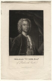 Abraham Tucker, by William Say, after  Enoch Seeman - NPG D6989