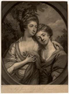 Jenny Bennet; Nelly Bennet, by Giuseppe Filippo Liberati ('Joseph') Marchi, after  James Nixon - NPG D699