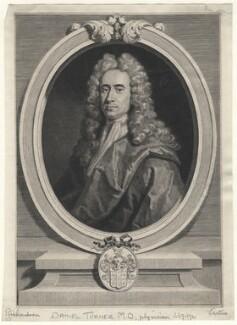 Daniel Turner, by George Vertue, after  Jonathan Richardson - NPG D6992