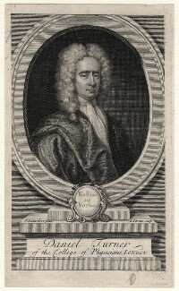 Daniel Turner, by George Vertue, after  Jonathan Richardson - NPG D6994