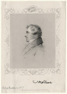 J.M.W. Turner, by J.B. Hunt, published by  Rogerson & Tuxford - NPG D6995