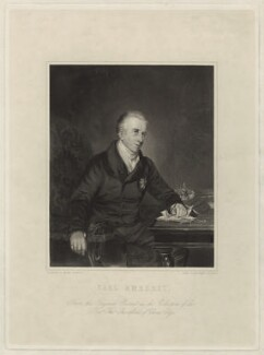 William Pitt Amherst, 1st Earl Amherst of Arracan, by James Posselwhite, after  Herbert Luther Smith - NPG D7001
