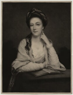 Unknown sitter inscribed Mary (née Panton), Duchess of Ancaster, after Unknown artist, mid-late 19th century - NPG D7008 - © National Portrait Gallery, London