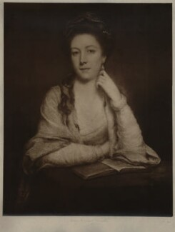 Unknown sitter inscribed Mary (née Panton), Duchess of Ancaster, after Unknown artist - NPG D7009