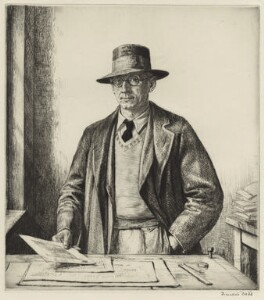 (Alfred Charles) Stanley Anderson, by Francis Dodd - NPG D7015