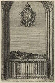 Lancelot Andrewes as effigy, after Unknown artist - NPG D7019