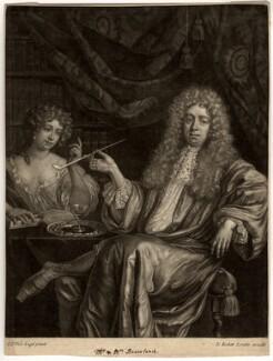 Hadriaan (Adrian) Beverland, by Isaac Beckett, after  G.D. Vois - NPG D703