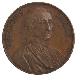 John Locke, by Jean Dassier - NPG D7041