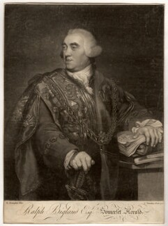 Ralph Bigland, by Charles Townley, after  Richard Brompton - NPG D706