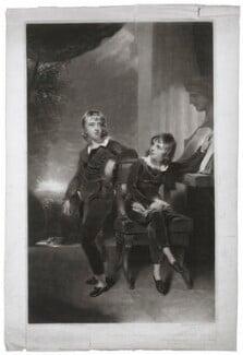 Sir Edmund Antrobus, 2nd Bt; Gibbs Crawford Antrobus (as children), by George Clint, after  Sir Thomas Lawrence, 1802 - NPG D7077 - © National Portrait Gallery, London