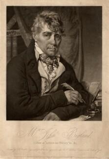 John Bigland, by William Ward, published by  William Sheardown, published by  Rudolph Ackermann, published by  Longman, Hurst & Co, after  John Raphael Smith - NPG D708