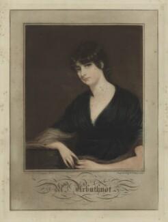 Marcia Mary Anne Arbuthnot (née Lisle), by Samuel William Reynolds, after  John Hoppner, published 1800 - NPG D7081 - © National Portrait Gallery, London