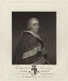 Charles George Perceval, 2nd Baron Arden, by Georg Siegmund Facius, after  Chandler - NPG D7086