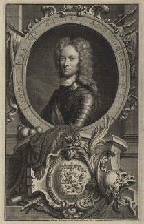 John Campbell, 2nd Duke of Argyll and Greenwich, by Jacobus Houbraken, after  William Aikman - NPG D7094