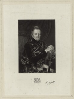 John Campbell, 7th Duke of Argyll, by James Posselwhite, after  Sir William Charles Ross - NPG D7100