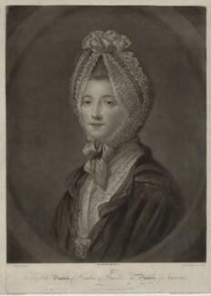 Elizabeth (née Gunning), Baroness Hamilton of Hameldon, by John Finlayson, after  Katharine Read - NPG D7115