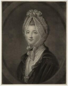 Elizabeth (née Gunning), Baroness Hamilton of Hameldon, by John Finlayson, after  Katharine Read, published 1770 - NPG D7116 - © National Portrait Gallery, London