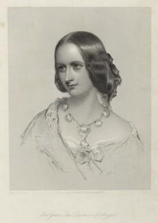 Elizabeth Georgiana (née Sutherland-Leveson-Gower), Duchess of Argyll, by Francis Holl, after  James Rannie Swinton, (1857) - NPG D7119 - © National Portrait Gallery, London