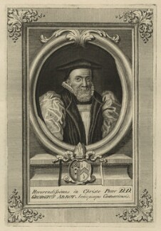 George Abbot, by George Vertue - NPG D7125