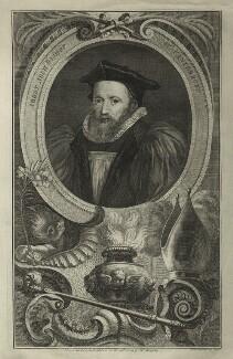 George Abbot, by Jacobus Houbraken, 1740s-1750s - NPG D7126 - © National Portrait Gallery, London