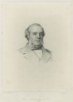 Henry Austin Bruce, 1st Baron Aberdare, by Charles Holl, after  Henry Tanworth Wells - NPG D7132