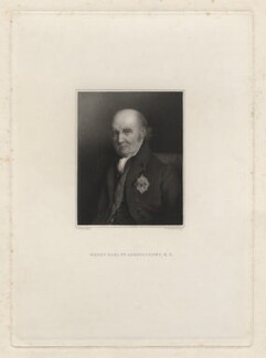 Henry Nevill, 2nd Earl of Abergavenny, by James Thomson (Thompson), after  Alfred Tidey - NPG D7140