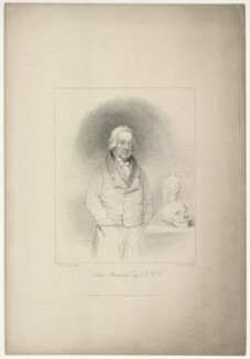 John Abernethy, by Robert Cooper, published by  James Bulcock, after  Charles Penny, published 1825 - NPG D7144 - © National Portrait Gallery, London