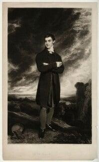 Sir Thomas Dyke Acland, 10th Bt, by Samuel William Reynolds, after  William Owen, (1819) - NPG D7156 - © National Portrait Gallery, London
