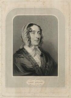 Lydia Elizabeth (née Hoare), Lady Acland, by Samuel Cousins, after  Joseph Severn - NPG D7160